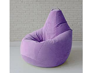Кресло груша Декор Базар Бали, XXL (нежная сирень)