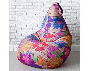 Купить кресло Декор Базар груша Цветы на вагонке, XXL