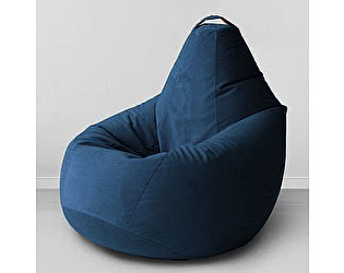 Купить кресло Декор Базар груша Спайк, XXL (морская глубина)