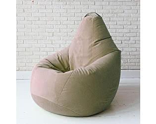 Кресло груша Декор Базар Спайк, XXL (светло бежевый -латтэ)