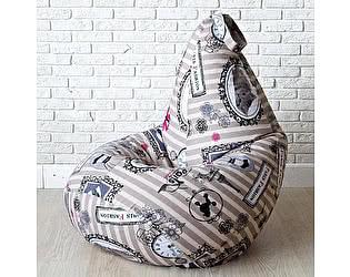 Кресло груша Декор Базар Paris Fashion, XXL