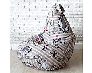 Купить кресло Декор Базар груша Paris Fashion, XXL