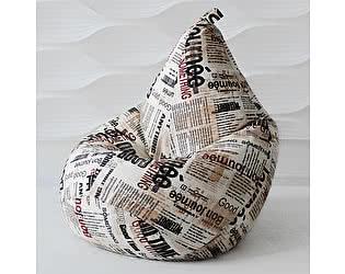 Кресло-мешок Декор Базар Газета, L