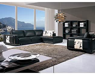 Угловой кожаный диван Defy Furniture Карне