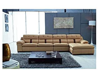 Угловой диван из кожи Defy Furniture Рой