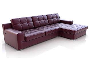 Угловой диван из кожи Defy Furniture Марки
