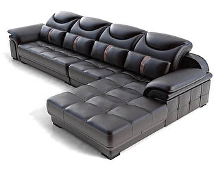 Угловой диван из кожи Defy Furniture Марлон
