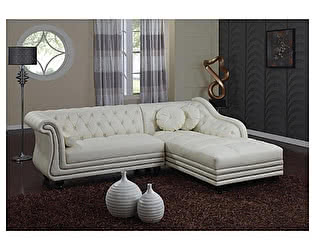 Угловой диван из кожи Defy Furniture Софра