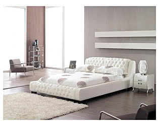 Кожаная кровать Defy Furniture Меррос