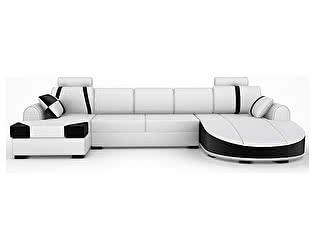 Угловой кожаный диван Defy Furniture Вейлиос