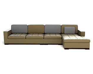 Угловой кожаный диван Defy Furniture Бракетт