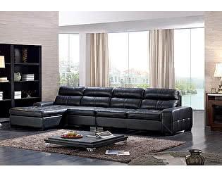 Угловой кожаный диван Defy Furniture Боливик