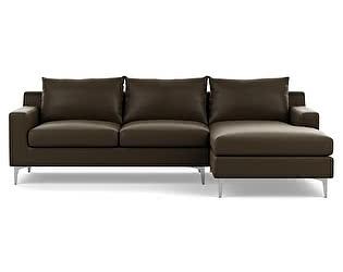 Угловой кожаный диван Defy Furniture Слим