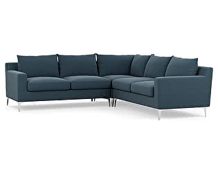 Большой тканевый диван Defy Furniture Слим