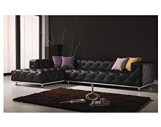 Угловой диван из кожи Defy Furniture Убрич