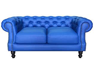 Кожаный Двухместный диван Defy Furniture Честер Люкс