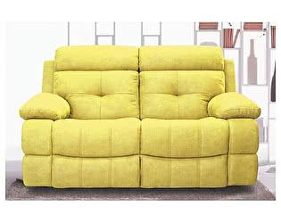 Двухместный Кожаный Диван с Реклайнером Defy Furniture Берт