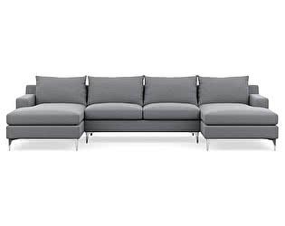 Купить диван Defy Furniture П Образный Тканевый Слим
