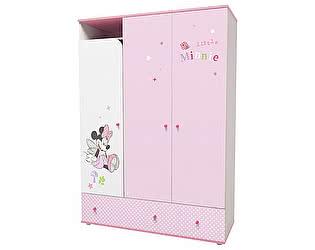Купить шкаф Polini Disney baby трехсекционный