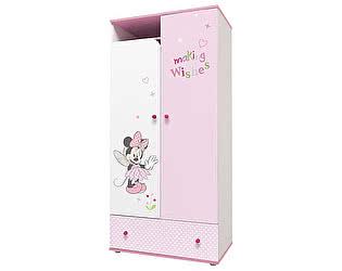 Купить шкаф Polini Disney baby двухсекционный
