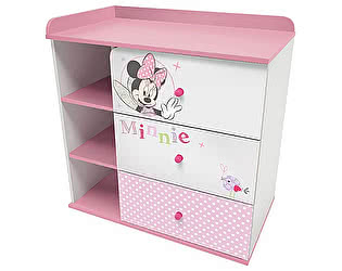 Купить тумбу Polini Disney baby с 3 ящиками, комбинированная