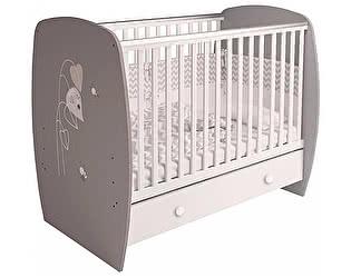 Купить кровать Polini French 710 Teddy с ящиком