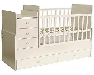 Купить кровать Polini Кроватка-трансформер Polini Simple 1100