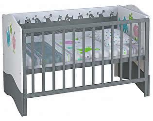 Купить кровать Polini Polini Basic Монстрики