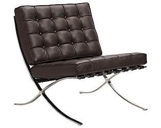 Кресло DG-Home Barcelona Chair Коричневая Кожа Класса Премиум