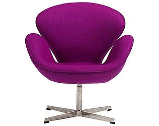 Кресло DG-Home Swan Chair Лиловый Кашемир