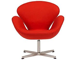 Кресло DG-Home Swan Chair Красный Кашемир
