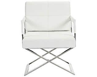 Кресло DG-Home Aster X Chair Белая Кожа Класса Премиум