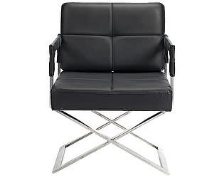 Кресло DG-Home Aster X Chair Черная Кожа Класса Премиум
