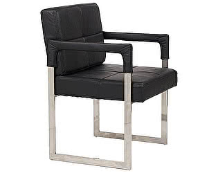 Кресло DG-Home Aster Chair Черная Кожа Класса Премиум