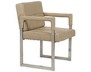 Кресло DG-Home Aster Chair Бежевая Кожа Класса Премиум