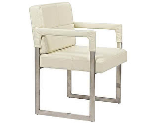 Кресло DG-Home Aster Chair Cream Premium Leather