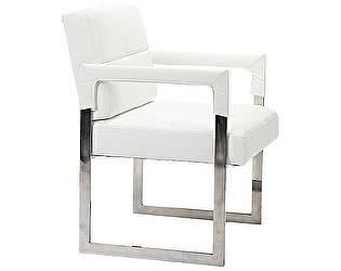 Кресло DG-Home Aster Chair Белая Кожа Класса Премиум