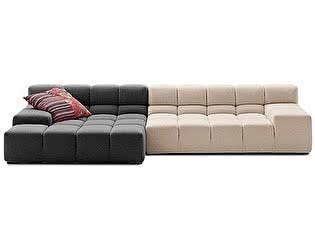 Диван DG-Home Tufty-Time Sofa Серо-кремовая Шерсть