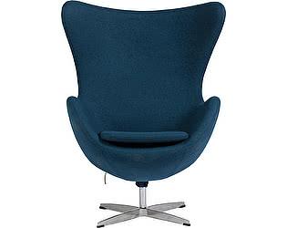 Купить кресло DG-Home Egg Chair Сине-зелёное 100% Кашемир