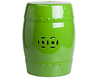 Керамический столик-табурет DG-Home Garden Stool Зелёный