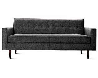 Диван DG-Home Bantam Sofa Большой Темно-серая Шерсть