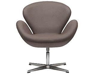 Кресло DG-Home Swan Chair Серо-коричневая Шерсть