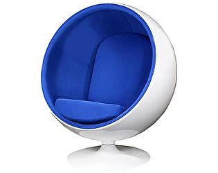 Кресло DG-Home Eero Ball Chair Синяя Шерсть