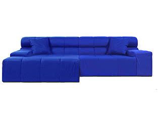 Диван DG-Home Tufty-Time Sofa Blue Шерсть
