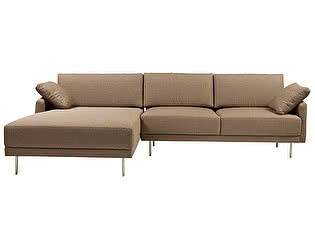 Диван DG-Home Camber Sofa Sectional Left Grey-Brown