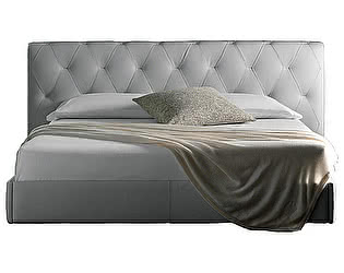 Кровать DG-Home Bluemoon 180х200 Белая Кожа Класса Премиум