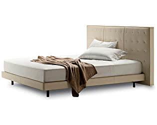 Кровать DG-Home Knoff 180х200 Молочная Кожа Класса Премиум