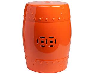 Керамический столик-табурет DG-Home Garden Stool Оранжевый