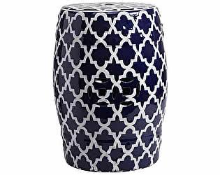 Керамический столик-табурет DG-Home Istanbul Stool Dark Blue