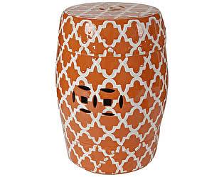 Керамический столик-табурет DG-Home Istanbul Stool Оранжевый
